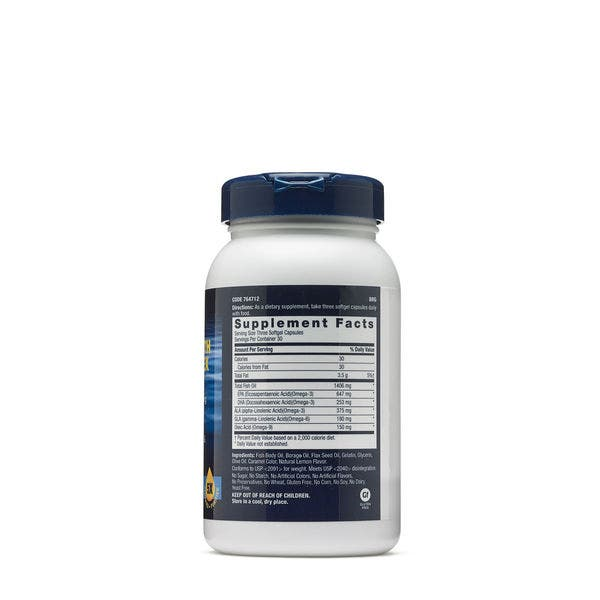 Shop Gnc Triple Strength Omega Complex 90 Count Overstock