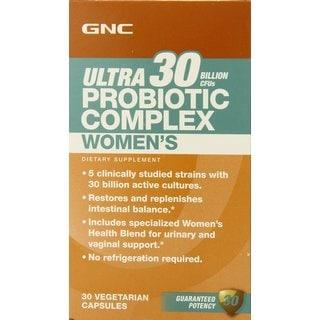 GNC Ultra Women's Probiotic Complex (30 Count)