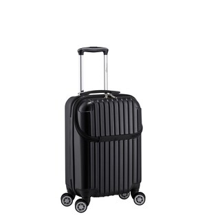Euro Style Collection 22-inch Carry On Hardside 17-inch Laptop Spinner Suitcase (3 options available)