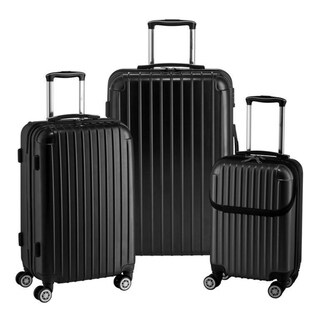 Link to Euro Style Collection Ibiza 3-piece Hardcase Luggage Set Similar Items in Luggage Sets