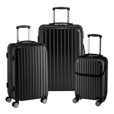 Euro Style Collection 3-piece Hardside Spinner Luggage Set