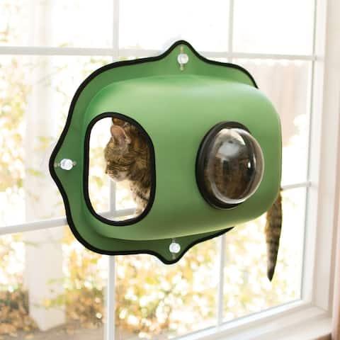K&H Pet Products EZ Mount Window Bubble Cat Pod - Green