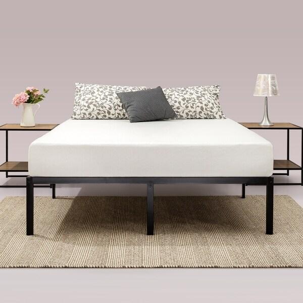 Shop Priage 14 Inch Classic Metal Platform Bed Frame