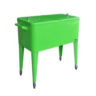 Permasteel 80 Qt. Patio cooler - Lime