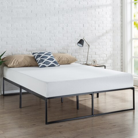 Priage Metal 14-inch Platform Bed
