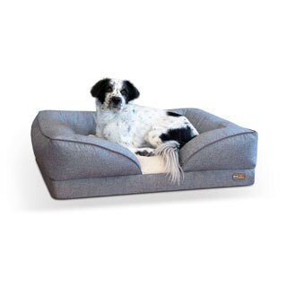 K&H Pet Products Pillow-Top Orthopedic Dog Bed & Lounger