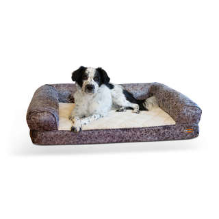 K&H Pet Products Bomber Memory Dog Bed & Sofa