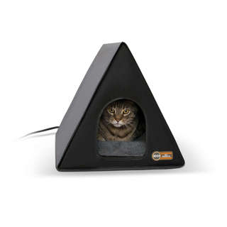 K&H Pet Products Heated A-Frame Cat House
