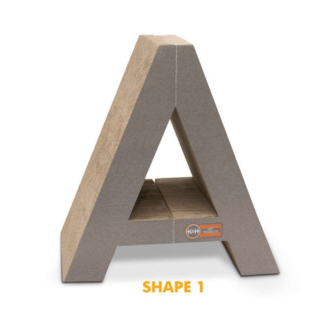K&H Pet Products Stretch N' Scratch Cardboard Toy