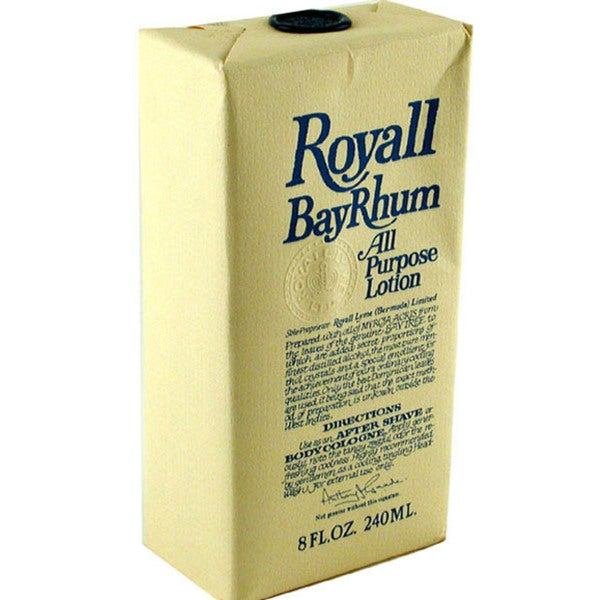 Royall Bayrhum Aftershave Lotion Cologne 8-ounce Men