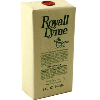 Royall Lyme Men's 8-ounce Aftershave Lotion Cologne