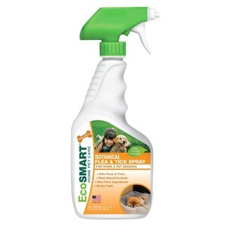 EcoSMART Organic Home and Pet Bedding Flea and Tick Killer, 24-Ounce