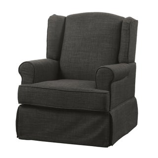 Furniture of America Tuleran Transitional Wingback Glider Rocker (5 options available)