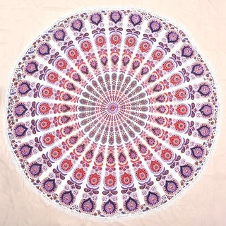 Round Throw Mandala Tapestry Hippie Wall Hanging