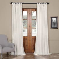 Exclusive Fabrics Solid Cotton Curtain Panel