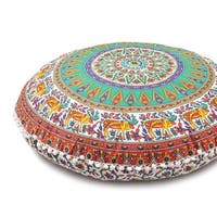 Large Throw Decorative Floor Pillow Cushion Cover Mandala