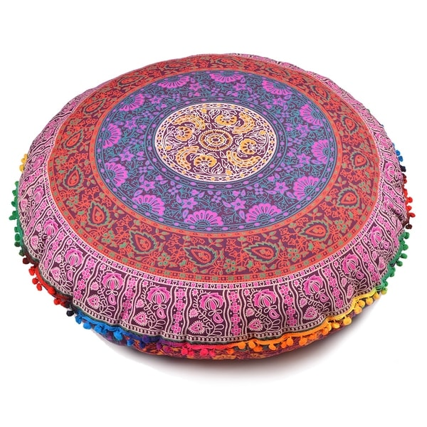 Shop Multi Color Throw Decorative Floor Pillow Cushion