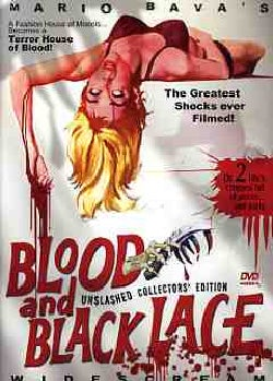 Blood and Black Lace: Widescream Unslashed Collector's Edition (DVD)