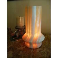 Handmade Alabaster Lamp (Egypt)