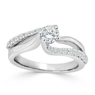 Auriya 14k Gold 3/4ct TDW Diamond Engagement Ring (H-I, I1-I2)