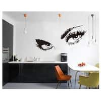 Hepburn Large Eyes Wall Vinyl