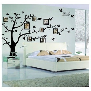 Family Tree Wall Vinyl & Buy Wall Decals Online at Overstock.com | Our Best Vinyl Wall Art Deals