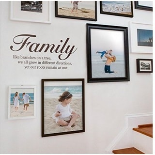 'Family Like Branches On A Tree' Vinyl Wall Decal