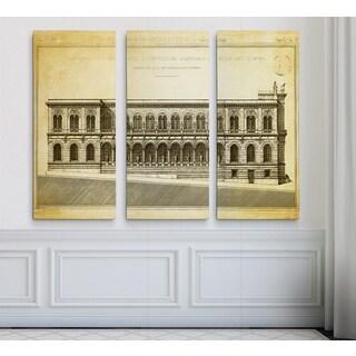 Vintage Italian Architecture Stencil V