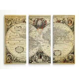 Parchment Treasue Map