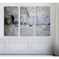 The Boats Regatta at Argenteuil,