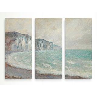 Cliff-at-Pourville -Claude Monet