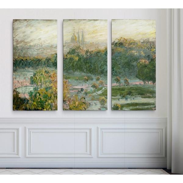 Tuileries-Study -Claude Monet
