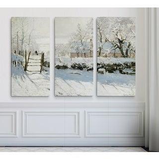 The-Magpie -Claude Monet