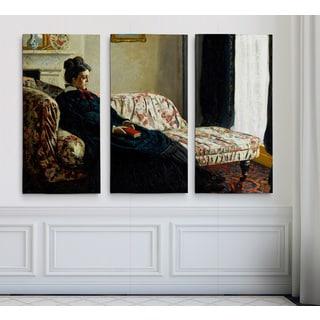 Monet-Sofa -Claude Monet