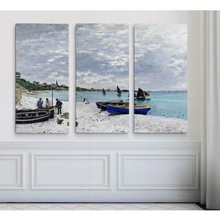 The-Beach -Claude Monet