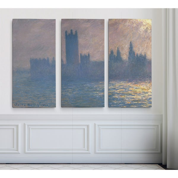 Houses-of-Parliament -Claude Monet