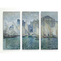 The-Museum-at-Le-Havre -Claude Monet