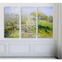 Fruit-Trees-in-Bloom -Claude Monet