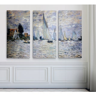 Boats-Regatta -Claude Monet