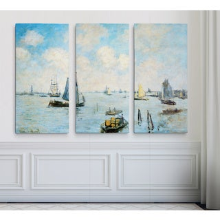 Sea-at-Le-Havre -Claude Monet