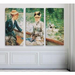 A-Summer's-Day -Claude Monet