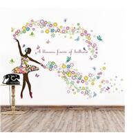 'Dancing Ballet' Vinyl Wall Art