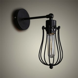 Vintage Style Wrought Iron Wall Lamp Grapefruit Wall Lamp Cafe Light Bars Light Bedside Light