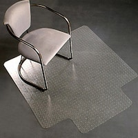 Standard Pile Carpet Protecting Chair Pad Office Computer Work Chair Mat