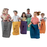 Learning Carpets Jumping Bags (Set of 6)