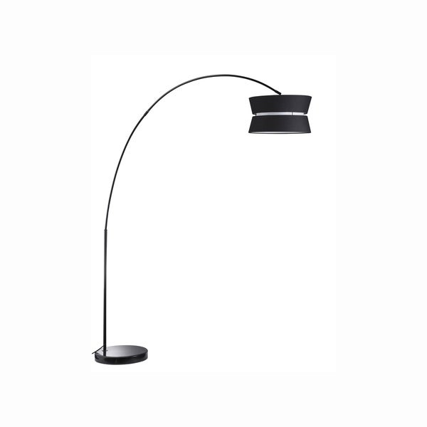 Euro Style Collection Oslo 70 Inch Arched Floor Lamp