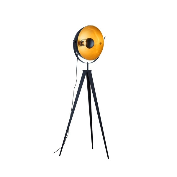 Shop Euro Style Collection Madrid Studio Tripod Floor Lamp Free