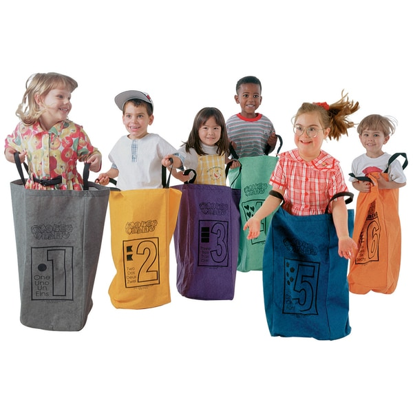 Learning Carpets Jumping Bags (Set of 10)