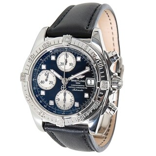 Breitling Chrono Cockpit A13357 Men's Watch in Stainless Steel