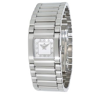 Baume & Mercier Catwalk MV045219 Ladies Watch in Diamond & Stainless Steel